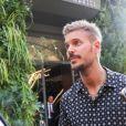 """Matt Pokora (M. Pokora) arrive à l'enregistrement de l'émission """"Vivement Dimanche Prochain"""" au studio Gabriel à Paris, France, le 21 août 2019."""