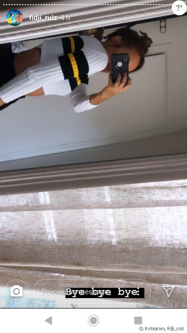 """Fidji de """"La Villa"""" dévoile sa nouvelle poitrine après sa réduction mammaire, le 9 septembre 2019"""