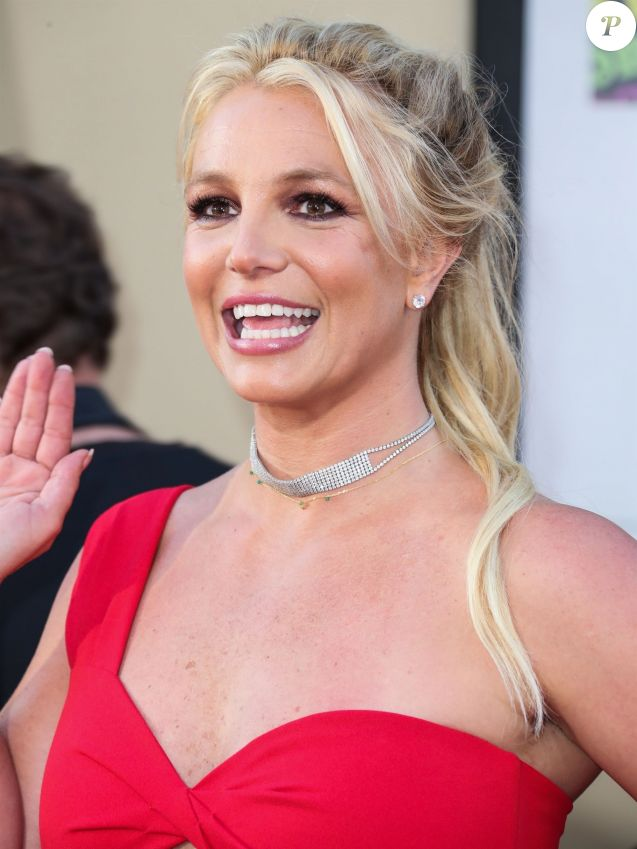 "Britney Spears - Les célébrités assistent à la première de ""Once Upon a Time in Hollywood"" à Hollywood, le 22 juillet 2019."