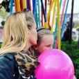 Sidonie Bonnec et ses enfants sur Instagram.
