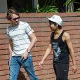 Exclusif - Maddox Chivan Jolie-Pitt se promène avec un ami à Los Angeles, le 20 juin 2019.