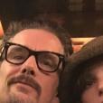 Maya Hawke et son père, Ethan Hawke sur Instagram, le 26 mai 2017.