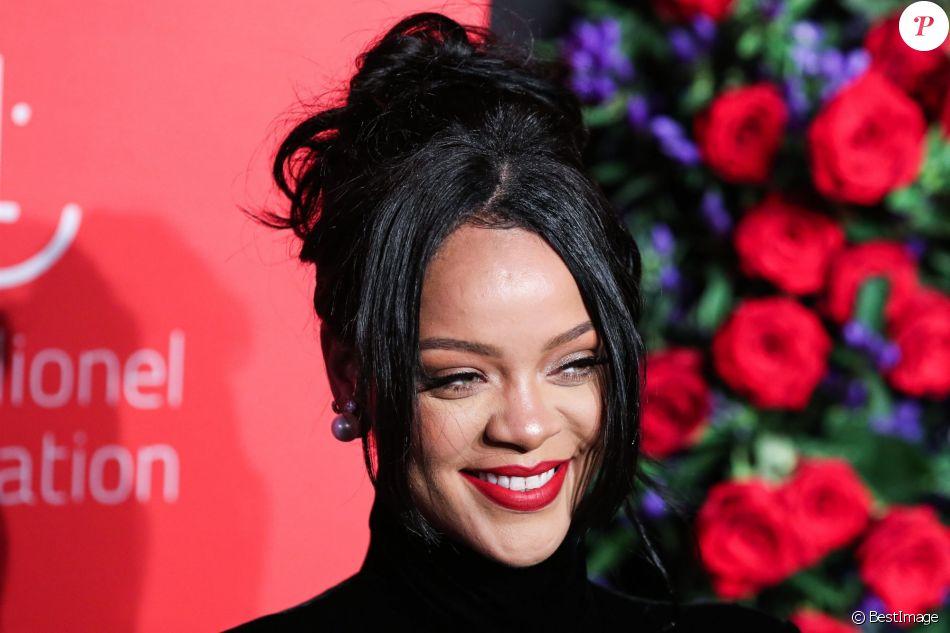 """Rihanna à la 5ème édition de la soirée """"Rihanna Annual Diamond Ball"""" à New York, le 12 septembre 2019."""