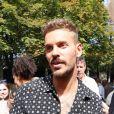 """Matt Pokora (M. Pokora) arrive à l'enregistrement de l'émission """"Vivement Dimanche Prochain"""" au studio Gabriel à Paris, France, le 21 août 2019.21/08/2019 -"""