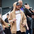 M. Pokora (Matt Pokora) arrive à Médiacité Liège pour la demi-finale de l'émission de The Voice Belgique, le 16 avril 2019.