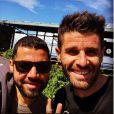 Émeric et Raoul, les deux anciens candidats de  L'Amour est dans le pré , se retrouvent sur l'île de la Réunion, sur Instagram, le 12 septembre 2019.