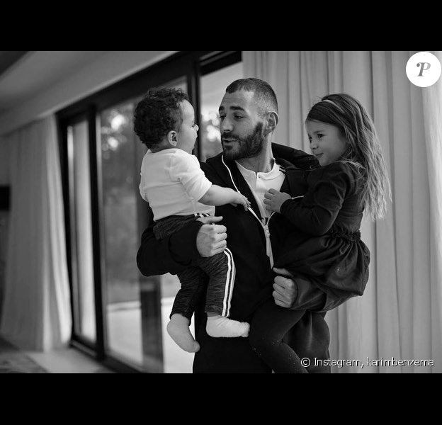 Karim Benzema sur Instagram.