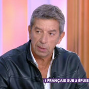 "Michel Cymes victime d'un burn-out : ""J'étais en train de partir"""