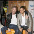 Eric Dane et Justin Chambers lors du festival de la fiction télévisée à Rome le 8 juillet 2009
