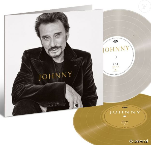 """Pochette de l'album posthume """"Johnny"""" qui sort le 25 octobre 2019 chez Universal."""