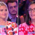 """Agathe Auproux et Kelly Vedovelli dans """"Touche pas à mon poste"""", le 19 septembre 2019, sur C8"""