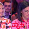 """Agathe Auproux et Kelly Vedovelli dans """"TPMP XXL"""", le 19 septembre 2019, sur C8"""
