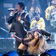 JAY-Z et Beyoncé en concert au festival de musique de Coachella à Indio, le 14 avril 2018. © Danyellah P./Bestimage