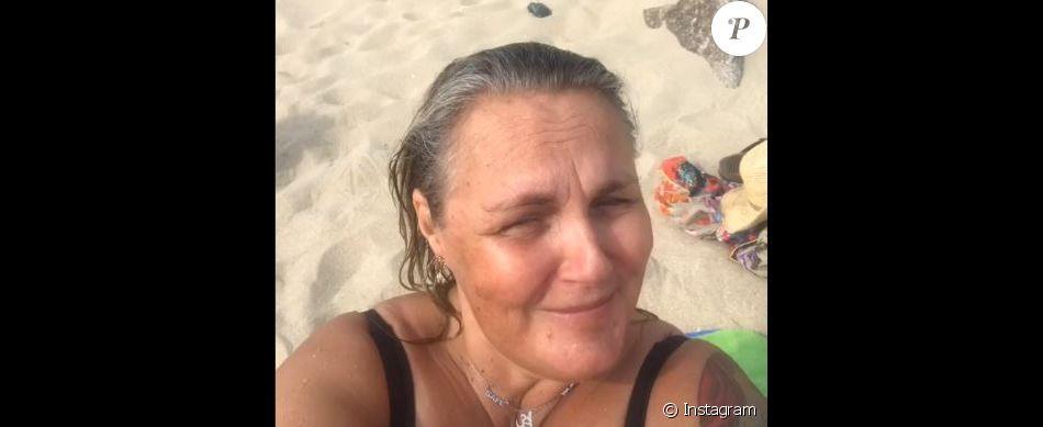 Valérie Damidot en vacances à l'Ile de Ré en septembre 2019.