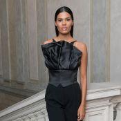 Tina Kunakey : Jeune maman exquise à la Fashion Week de Milan