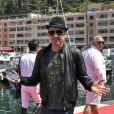 Gad Elmaleh - 20e Jumping International de Monte-Carlo au Port Hercule de Monaco à Monte-Carlo, le 27 juin 2015. La compétition célèbre cette année un double anniversaire : les 20 ans du Jumping et les 10 ans du Longines Global Champions Tour.