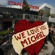 Le Staples Center où s'est déroulé l'hommage public de Michael Jackson