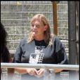 Debbie Rowe dans son ranch en Californie le 9 juillet 2009
