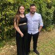 """Benoît, candidat des """"Princes de l'amour 4"""" (W9) en 2017, file le parfait amour avec Noémie, enceinte de leur premier enfant."""