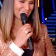 L'émotion d'Azzize Diabaté- Soirée de la love night pour le second prime de Danse avec les stars 2019- Samedi 28 septembre 2019.