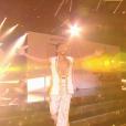 Prestation de Moundir pour son fils Ali sur une samba- Soirée de la love night pour le second prime de Danse avec les stars 2019- Samedi 28 septembre 2019.