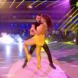 Elsa Esnoult sur Aya Nakamura- Soirée de la love night pour le second prime de Danse avec les stars 2019- Samedi 28 septembre 2019.