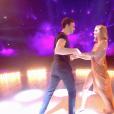 Hugo Philip danse avec Caroline Receveur- Soirée de la love night pour le second prime de Danse avec les stars 2019- Samedi 28 septembre 2019.