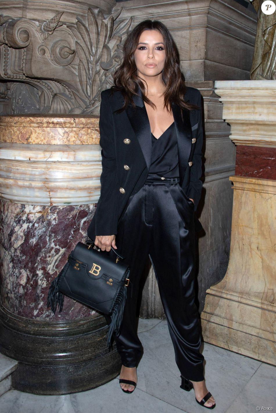 shades of buy popular authentic quality Eva Longoria assiste au défilé Balmain, collection prêt-à ...