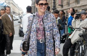 Cristina Cordula : Beauté florale à la Fashion Week de Paris