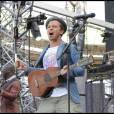 Christophe Maé en première partie de Johnny Hallyday, le 16 juin 2009, à La Beaujoire de Nantes