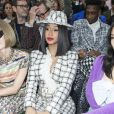 "Anna Wintour et Cardi B. - Front row du défilé de mode ""Chanel"", collection PAP printemps-été 2020 au Grand Palais à Paris. Le 1er octobre 2019. © Olivier Borde / Bestimage"