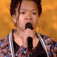 """Fannie - """"The Voice Kids 2019"""", le 4 octobre 2019 sur TF1."""