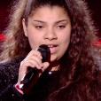 """Antonia - """"The Voice Kids 2019"""", le 4 octobre 2019 sur TF1."""