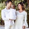 Laetitia Milot et Badri fêtent le premier anniversaire de leur fille Lyana. Le 14 mai 2019.