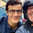 """Jean-Luc Reichmann proche de Paul des """"12 Coups de midi"""", photo Instagram du 25 juillet 2019"""