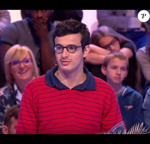"""Paul et sa famille dans """"Les 12 Coups de midi"""", le 23 mai 2019, sur TF1"""