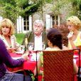 Hélène de Fougerolles, Malika Alaoui, Mélanie Tran, Michel Duchaussoy, Mylène Demongeot et Zinedine Soualem dans Tricheuse de Jean-François Davy (2009)