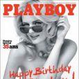 """La très jolie Lydia Hearst... en couverture du numéro pour les 35 ans de """"Playboy"""" !"""