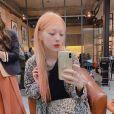 La chanteuse de K-Pop Sulli, retrouvée morte le 13 octobre 2019, sur Instagram.