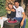 Enzo Zidane a fêté ses 24 ans avec sa compagne  Karen Gonçalves . Instagram, le 24 mars 2019.