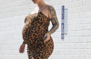 Amber Rose maman : premières images de son bébé, Slash Electric