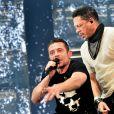 JoeyStarr (Joey Starr) et Kool Shen - Concert du groupe Suprême NTM à l'AccorHotels Arena à Paris, France, le 9 mars 2018. © Veeren/Bestimage