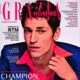 """Couverture de """"Grazia Hommes"""", paru le 17 octobre 2019."""