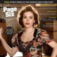 "Anna Friel en couverture de ""Page Six"" !"