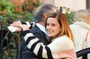 Emma Watson : Tendres câlins avec son père dans les rues de Londres