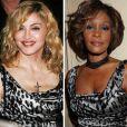 """""""Madonna et Whitney Houston portent la même robe : horreur !"""""""