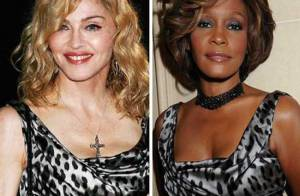 Whitney Houston et Madonna : le choc des divas, elles ont choisi... la même tenue !