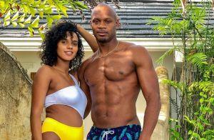 Asafa Powell et sa femme Alyshia : Mariés et déjà parents, ils présentent bébé