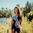 Justine Delmas élue Miss Aquitaine 2019 , se présentera à l'élection de Miss France 2020, le 14 décembre 2019.