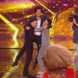 """Rahmane (23 ans) et Yoherlandy (28 ans)Golden Buzzer de Sugar Sammy dans """"Incroyable Talent 2019"""", le 5 novembre, sur M6"""
